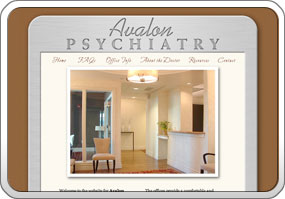 Avalon Psychiatry Website