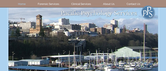 Pacific Psychology Services website