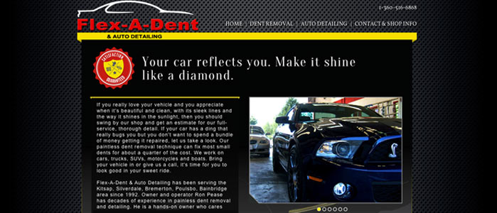 Flex-A-Dent website