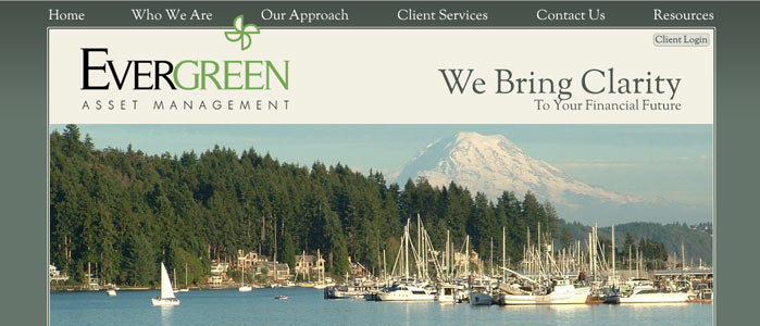 Evergreen Asset Management website