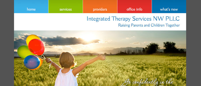 Integrated Therapy Services NW website