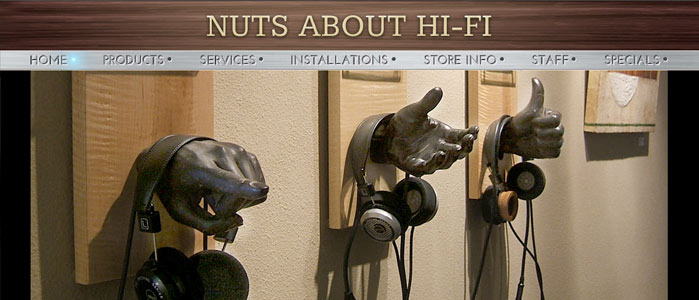 Nuts About Hi-Fi website